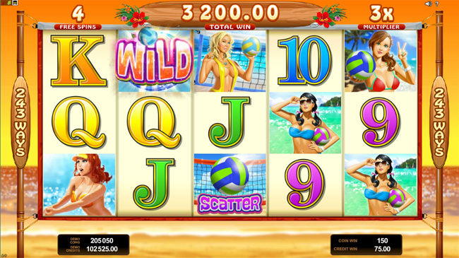 free Bikini Party slot bonus feature