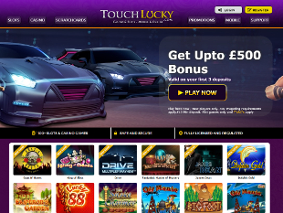 Touch Lucky Casino Home