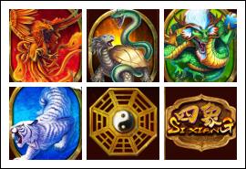 free Si Xiang slot game symbols