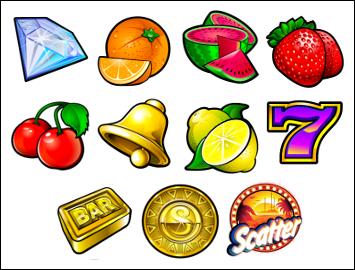 free SunTide slot game symbols