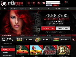 Maple Casino Home