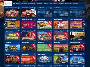 BetFred Casino Lobby
