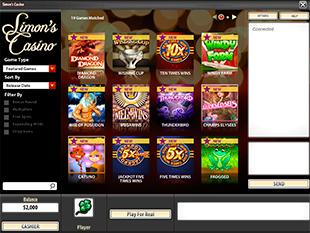 Simon's Casino Lobby