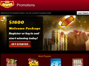 All Jackpots Mobile Casino Home