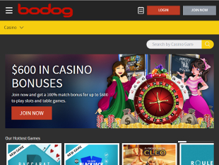 Bodog Casino Home
