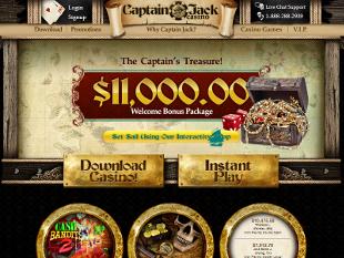 Captain Jack Casino Home