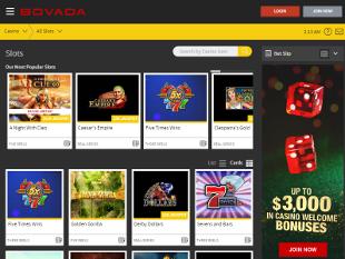 bovada casino sign in