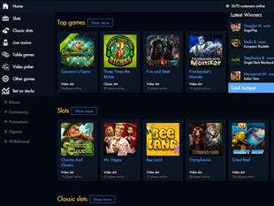 21Dukes Casino Lobby
