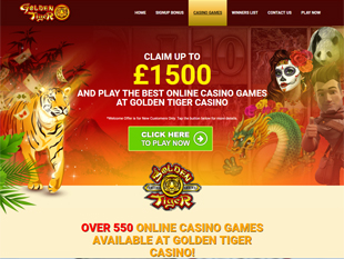 golden tiger flash casino