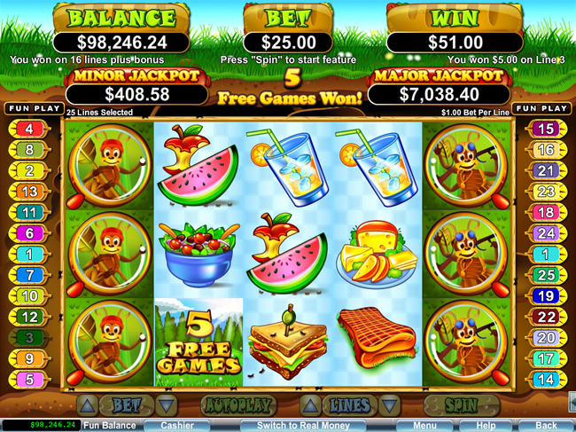free Small Fortune slot bonus feature