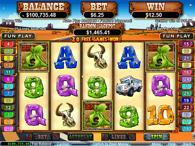 free Coyote Cash slot bonus feature