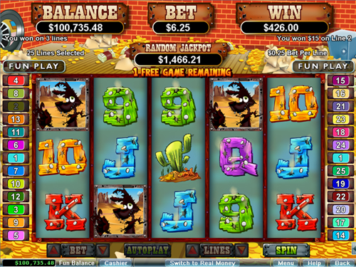 free Coyote Cash free spins wild win