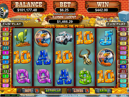 free Coyote Cash free games total win