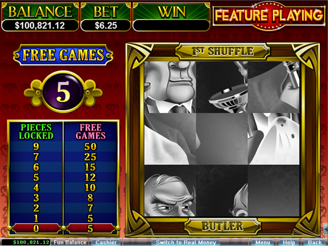 free It's a Mystery! slot bonus feature