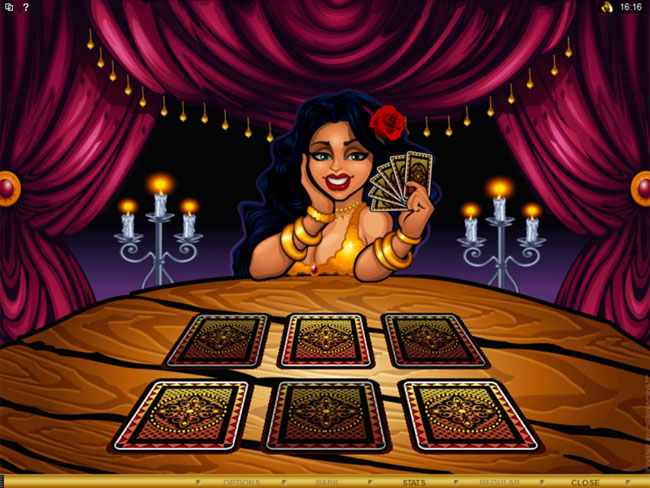 free Gypsy Queen slot bonus feature