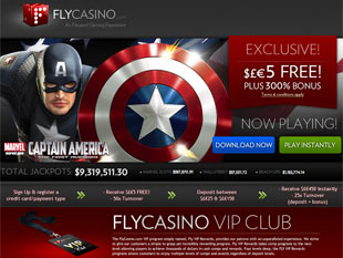 Fly Casino Home