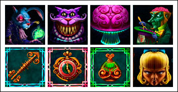 free Alaxe in Zombieland slot game symbols