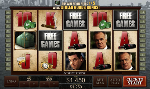 free The Sopranos win-win feature