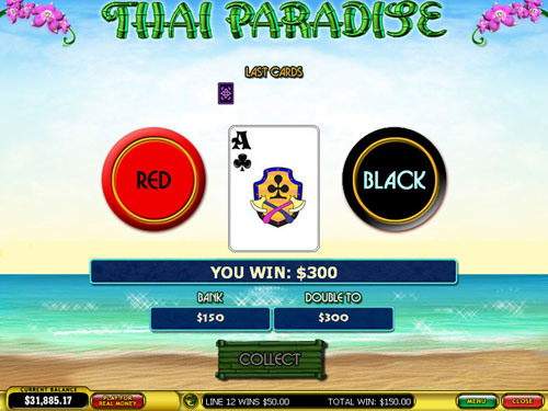 free Thai Paradise gamble feature