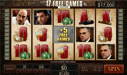 free The Sopranos free games twister feature