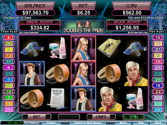 free High Fashion slot bonus feature