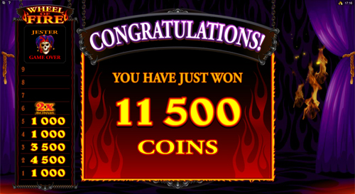 free Red Hot Devil free games Wheel of Fire Feature Prize