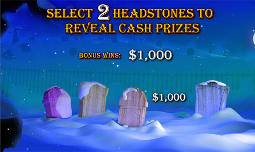 free Ghosts of Christmas bonus game