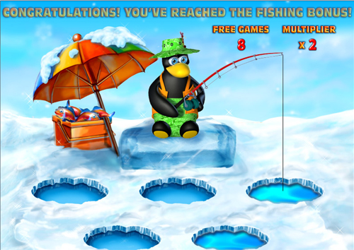 free Penguin Vacation free games twister feature