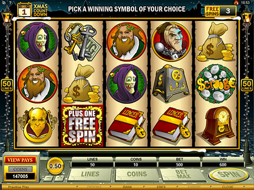 free Scrooge free games feature one more free spin