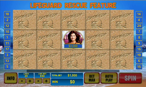 free Baywatch Lifeguard Rescue Feature
