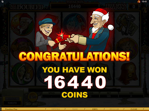 free Scrooge free spins total prize
