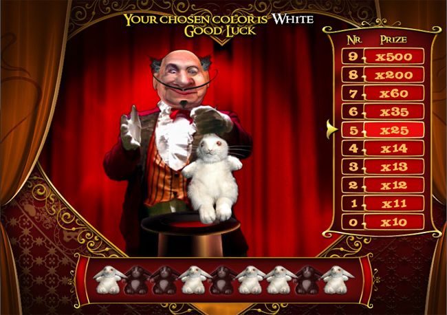 free La Chatte Rouge slot bonus feature
