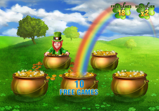 free Irish Luck slot bonus feature