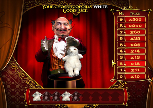 free La Chatte Rouge bonus game pick