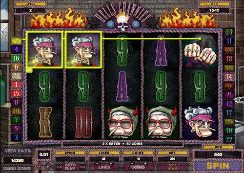 free Hells Grannies free games twister feature