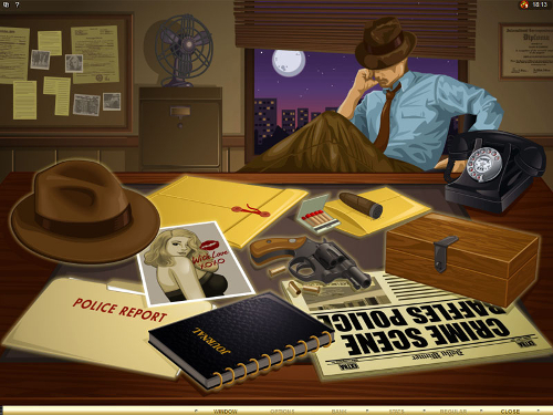 free Private Eye search for clues bonus