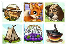 free Foxy Fortunes slot game symbols