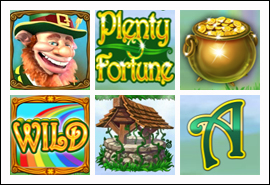 free Plenty O'Fortune slot game symbols