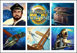 free Leagues of Fortune slot game symbols