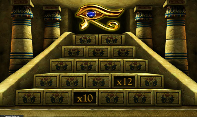 free The Pyramid of Ramsses slot bonus feature