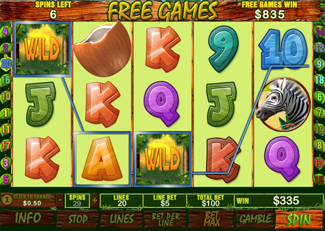 free Banana Monkey slot bonus feature