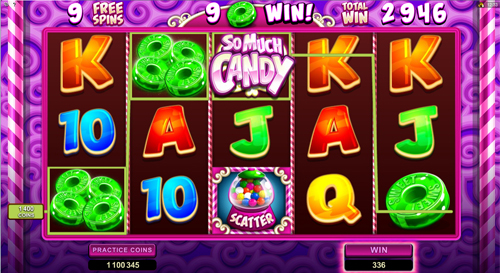 free So Much Candy free spins