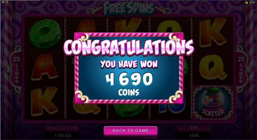 free So Much Candy free games win