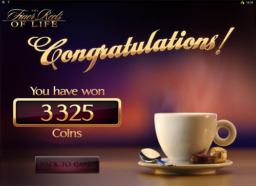 free The Finer Reels of Life Bonus Game Win