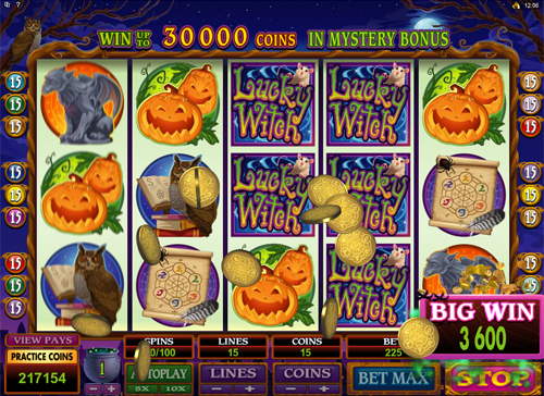 free Lucky Witch Big Win