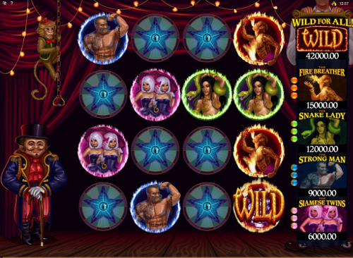 free The Twisted Circus bonus feature