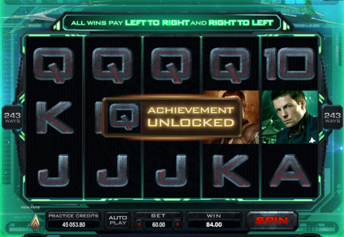 free Battlestar Galactica slot achievement