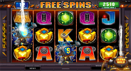 free RoboJack free games extra wild feature