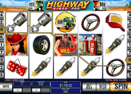 free Highway Kings Pro wild symbol