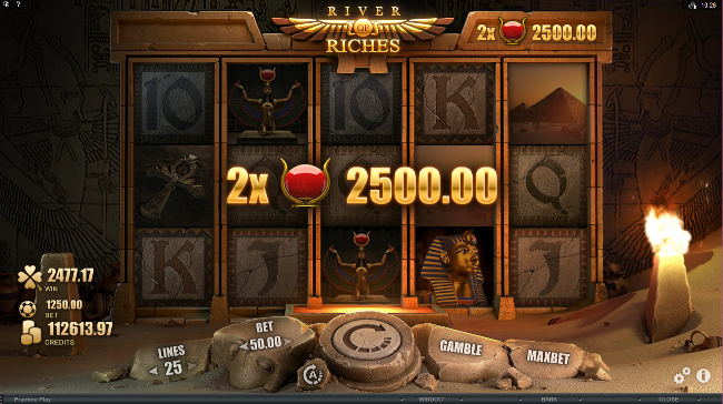 free River of Riches slot bonus feature